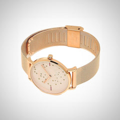 Furla R4253108501 Giada Ladies PVD Rose Gold Plated Watch