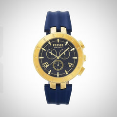 Versus by Versace S76090017 Men's Blue Leather Watch