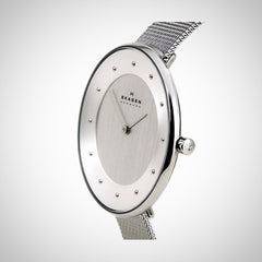 Skagen SKW2140 Women's Quartz Analogue Silver Stainless Steel Strap Watch