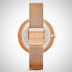 Skagen SKW2142 Women's Gitte Rose Gold Tone Stainless Steel Watch