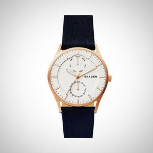 Skagen SKW6372 Holst Men's Leather Watch