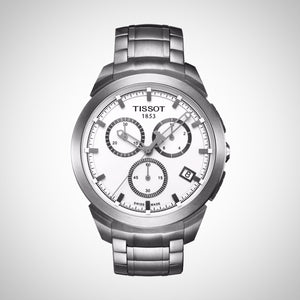 Tissot T0694174403100 T-sport Men's Titanium White Dial Watch