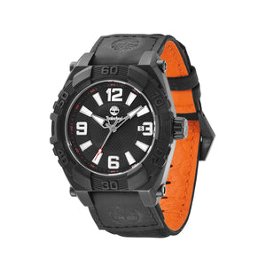 Timberland Hookset Men's Black IP Watch 13321JSB-02