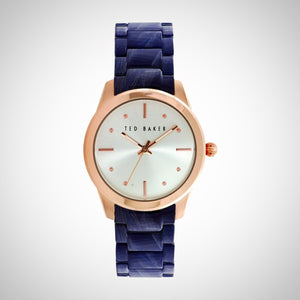 Ted Baker TE10025284 Ladies Acetate Blue Strap Quartz Watch