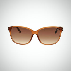 Tom Ford  FT0432 45F 59 Dana Ladies Brown Sunglasses