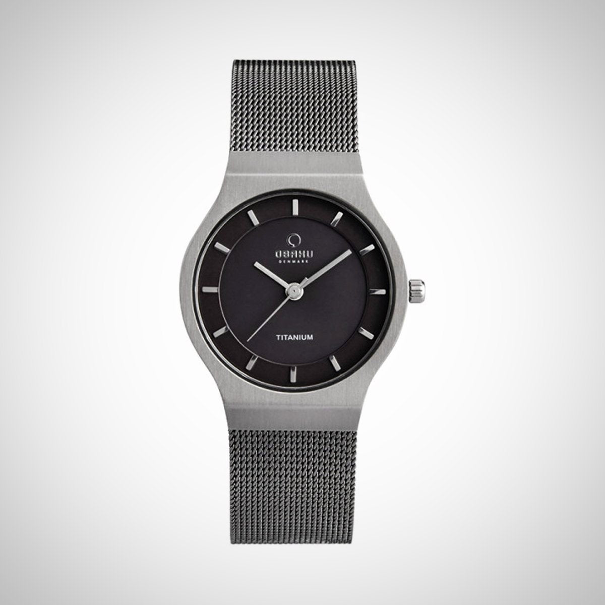 Obaku V123LTJMJ Men's Grey Dial Stainless Steel Watch