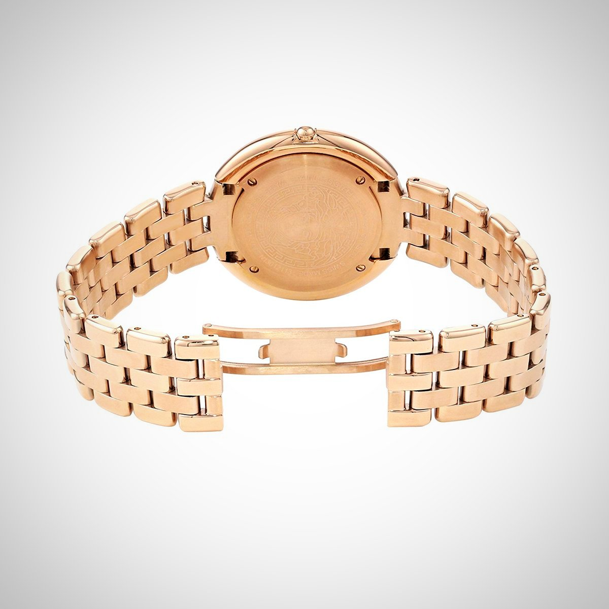 Versace Thea VA7050013 Ladies Rose Gold Watch