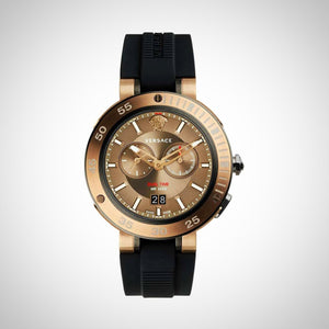 Versace VCN030017 V-Extreme Pro Men's Black Strap Watch