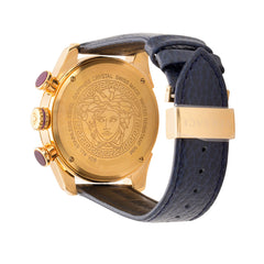 Versace VDB030014 V-Ray Men's Leather Watch
