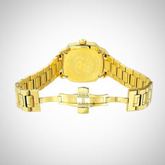 Versace VQD060015 Dylos Ladies PVD Gold Plated Watch