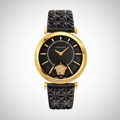 Versace VQG040015 Ladies V-Helix leather Swiss Quartz watch