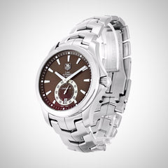 Tag Heuer WJF211C.BA0570 Link Men's Automatic Brown Dial Stainless Steel Watch