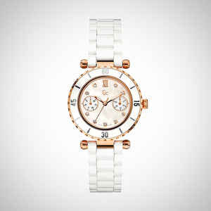 GC X46104L1S Diver Chic PVD Rose Gold Plating Ladies Watch