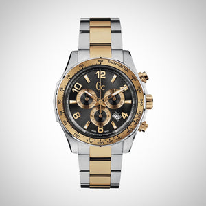 Guess Collection X51004G5S Mens Chronograph Stainless Steel Two Tone Colour Watch