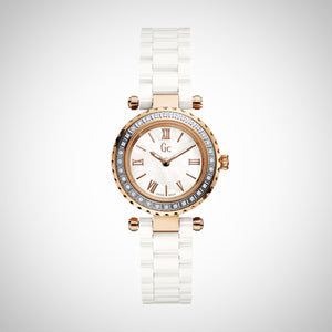 GC X70126L1S Ladies Mini Chic Ceramic Watch