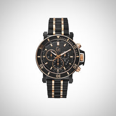Guess Collection X95002G2S Mens Chronograph Black Ion Plated Steel Watch