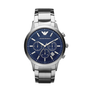 Emporio Armani AR2448 Men's Chronograph Watch with Navy Blue Dial