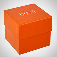 Hugo Boss Orange 1513107 Sao Paulo Men's Black Silicone Strap Quartz Watch
