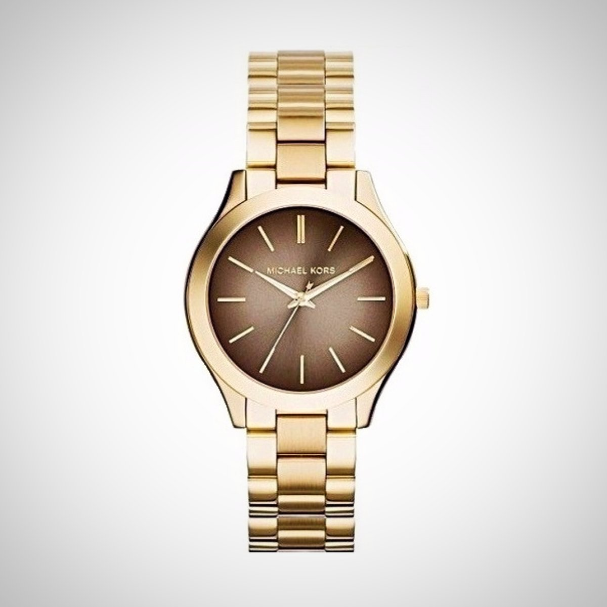 Michael Kors MK3381 Ladies' Gold Stainless Steel Quartz Watch