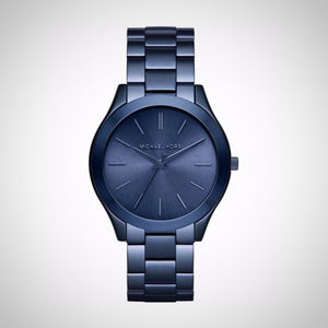Michael Kors MK3419 Ladies Blue Stainless Steel Watch