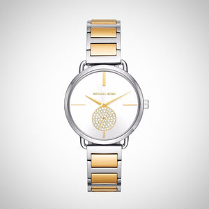 Michael Kors MK3679 Portia Two Tone Ladies watch