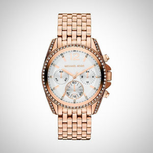 Michael Kors MK5836 Pressley Ladies White Dial Watch