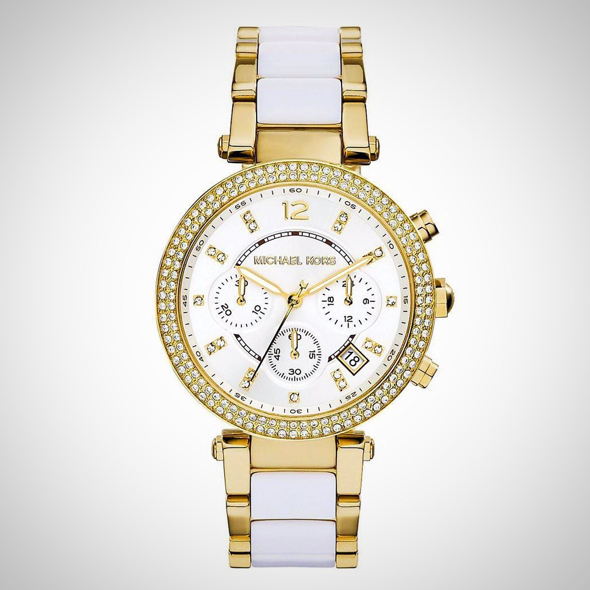 Michael Kors MK6119 Gold Tone Stainless Steel Case Ladies Watch