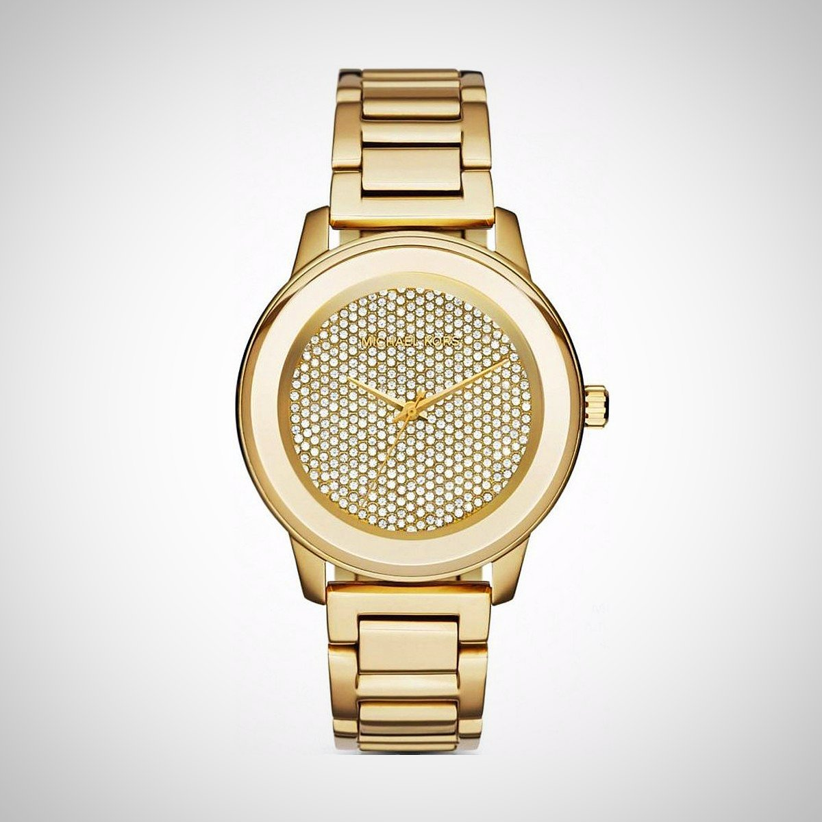 Michael Kors MK6209 Ladies Kinley Pav Gold Tone Watch