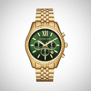 Michael Kors MK8446 Lexington Men's Green Dial Watch