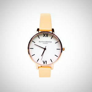 Olivia Burton OB16BDW21 Ladies White Dial Watch