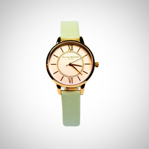 Olivia Burton OB14WD24 Ladies White Leather Watch