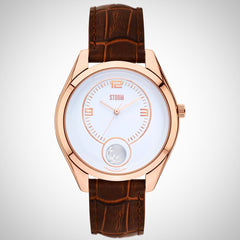 Storm Ladies Orba PVD Rose Gold Plated Steel Watch