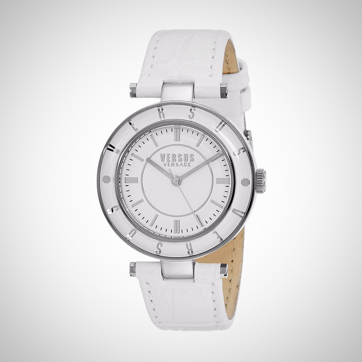 Versus by Versace SP8120015 White Dial and Strap Ladies Watch