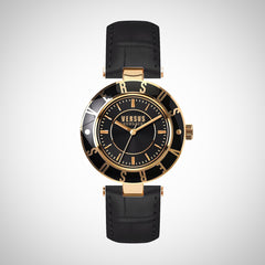 Versus by Versace SP8160015 Black Dial and Strap Ladies Watch
