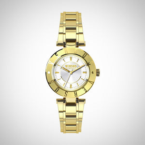 Versus by Versace SP8200015 Ladies Gold-Tone Watch