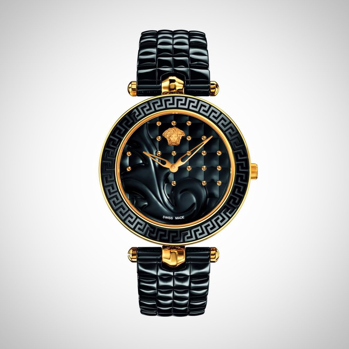 Versace VAO040016 Vanitas Ceramic Ladies Watch