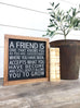 Friend Wooden Sign