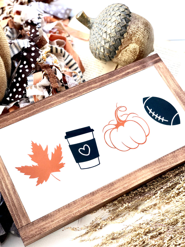 Favorite Fall Things Color Wooden Sign