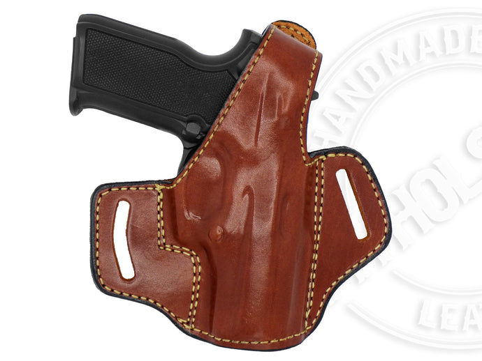 Smith & Wesson SD40 OWB Thumb Break Leather Belt Holster