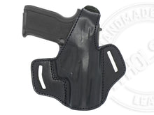 Ruger SR9c OWB Thumb Break Leather Right Hand Belt Holster