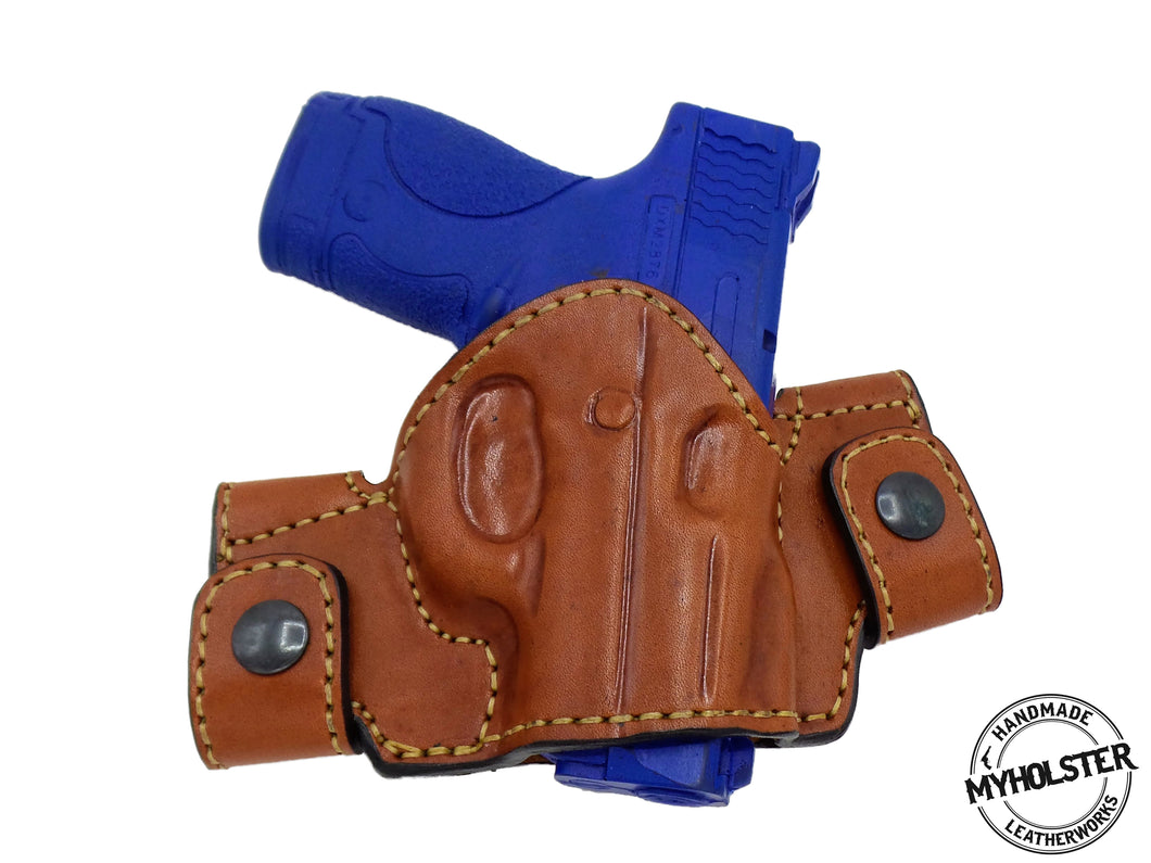 RUGER LC9 Snap-on Right Hand Leather Holster
