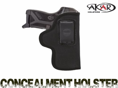 Ruger LCP II Concealed Carry Nylon IWB-Inside The Waistband Clip Pistol,  Akar