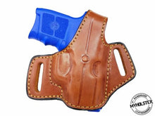 Kimber Micro Carry .380 Right Hand OWB Thumb Break Leather Belt Holster