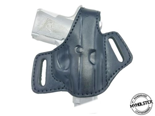 Kimber CDP II Right Hand OWB Thumb Break Leather Belt Holster