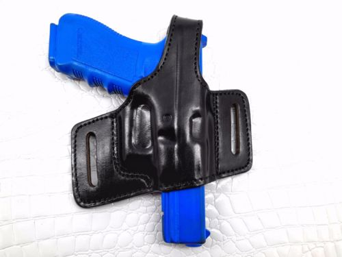 Right Hand Thumb Break Belt Leather Holster Fits Glock 17/22/31