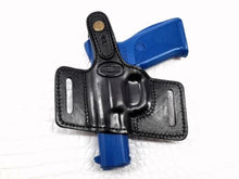 Thumb Break Holster Belt Right Hand Leather for Ruger SR9, MyHolster