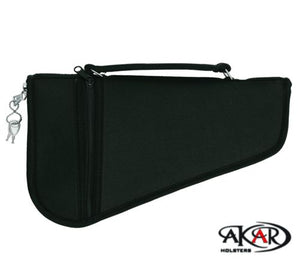 "Akar Pistol Rug Case, 3"" to 6"" Frame Auto's (Lock included)"