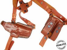 Shoulder Holster System with Double Mag Pouch for Glock 19/23/32, MyHolster