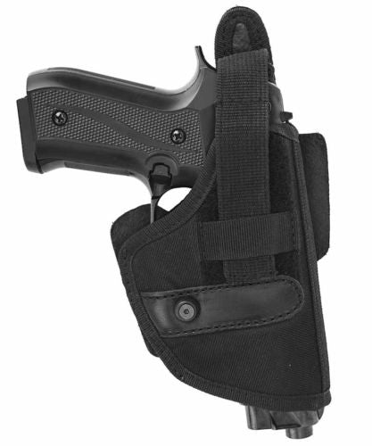 Beretta 92 Black Nylon Tactical Belt Holster W/ adjustable thumb-brake
