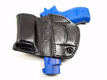 Belt Holster with Mag Pouch Leather Holster for Walther P99, MyHolster